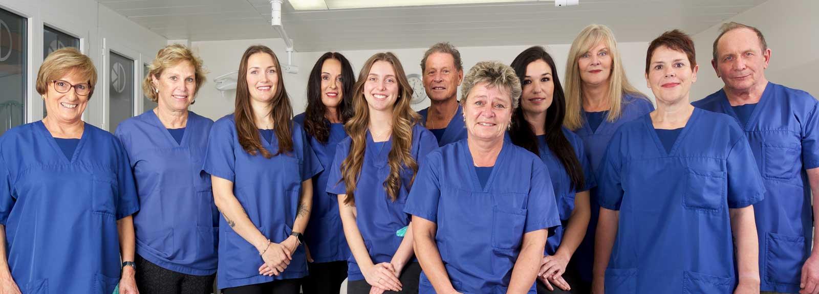 Mitarbeiter der Klinik für Aesthetische Chirurgie Biel